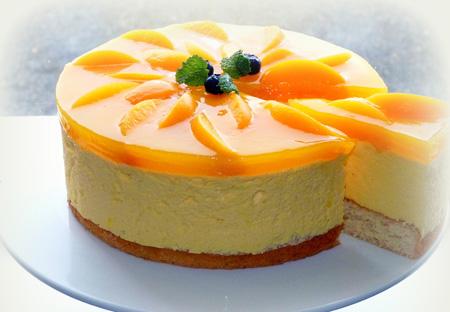 تزیین کیک اسفنجی با ژله,تزیین کیک با ژله