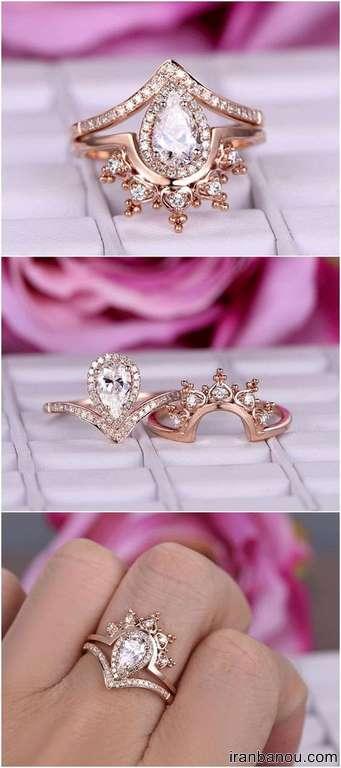 حلقه شیک عروس