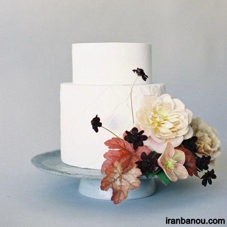 کیک عروس زیبا و شیک