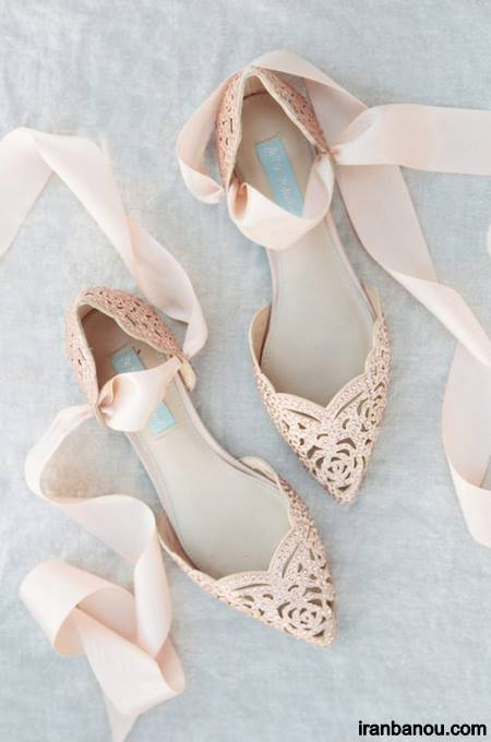 کفش پاشنه بلند عروسی