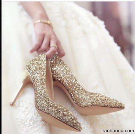 مدل های لاکچری کفش عروس