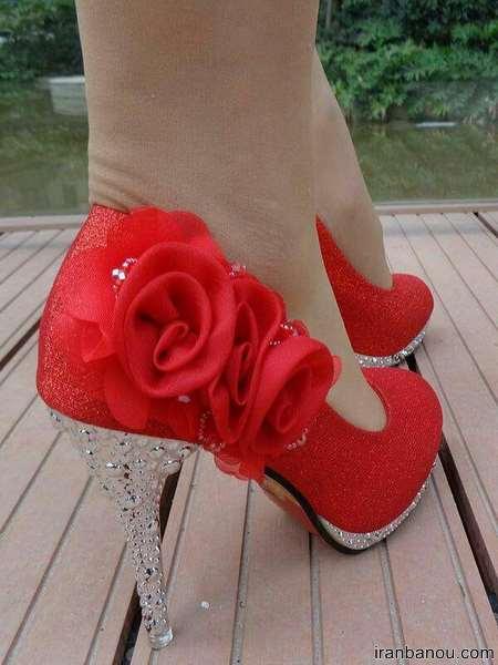 مدل عروس کفش