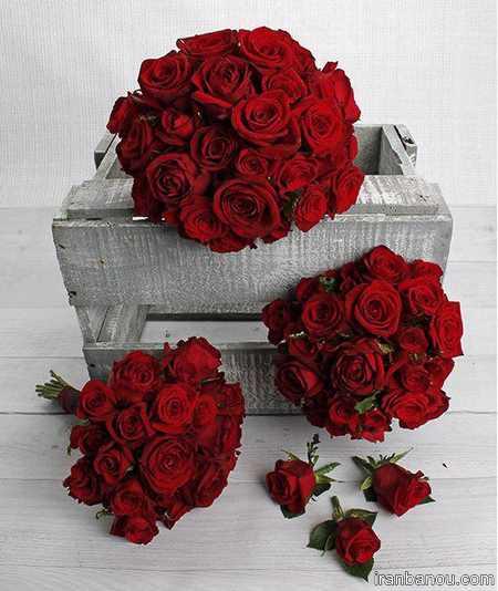 دسته گل عروس برای عقد