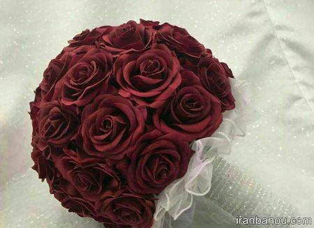 دسته گل عروس اروپایی
