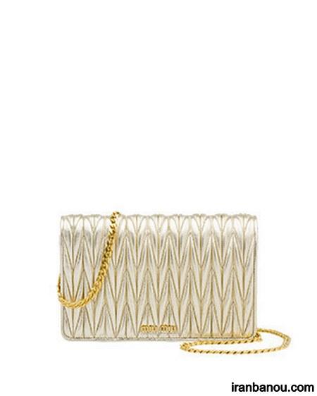 کیف طلایی برای عروس