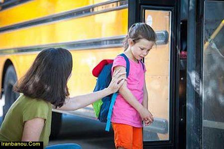 استرس کودکان در مدرسه