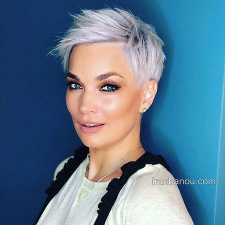 مدل مو دخترانه ایرانی کوتاه