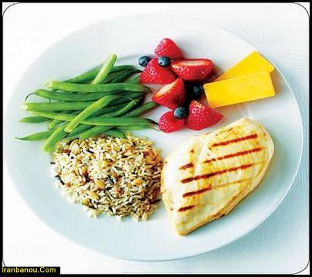 تحقیق غذای سالم