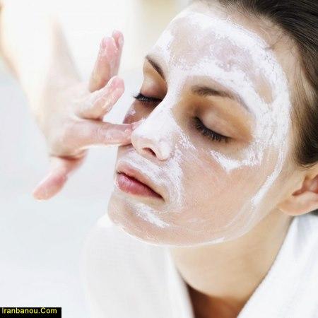 ماسک لایه بردار خانگی برای پوست خشک
