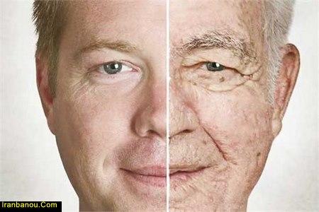 پیری پوست در جوانی
