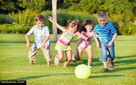مقاله تاثیر ورزش در کودکان