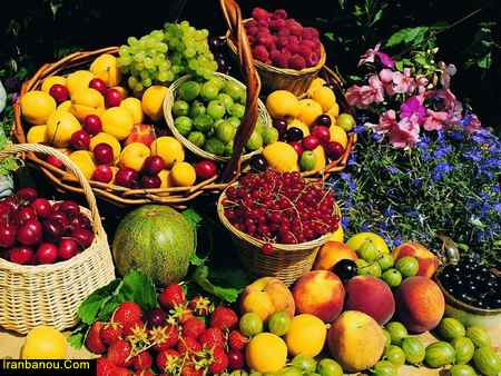 خوردن میوه ها با هم