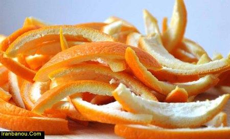 مضرات پوست پرتقال