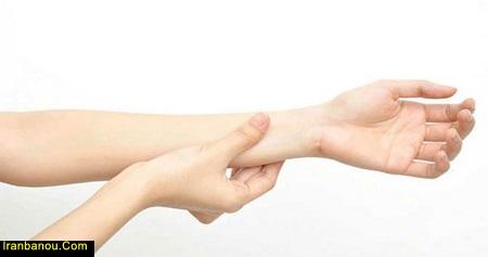 دست درد شبانه
