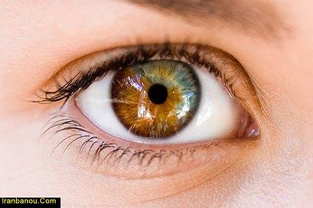 رنگ چشم نوزادان در بدو تولد