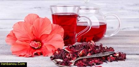 خواص چای ترش برای لاغری