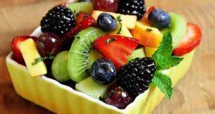 ترکیب آب میوه ها