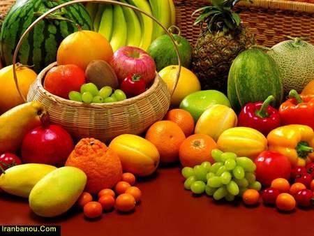 چه میوه هایی را باهم بخوریم