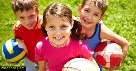 ورزش به زبان کودکانه