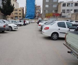 پارکینگ مرز مهران ، پارکینگ خودرو در مرز مهران