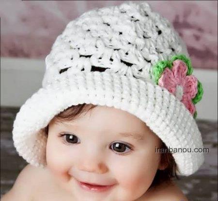 شال و کلاه بافتنی بچه گانه پسرانه
