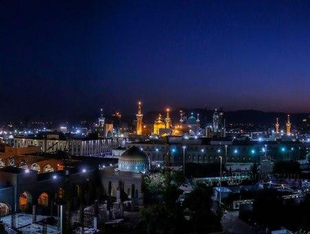 عکس حرم امام رضا برای پروفایل