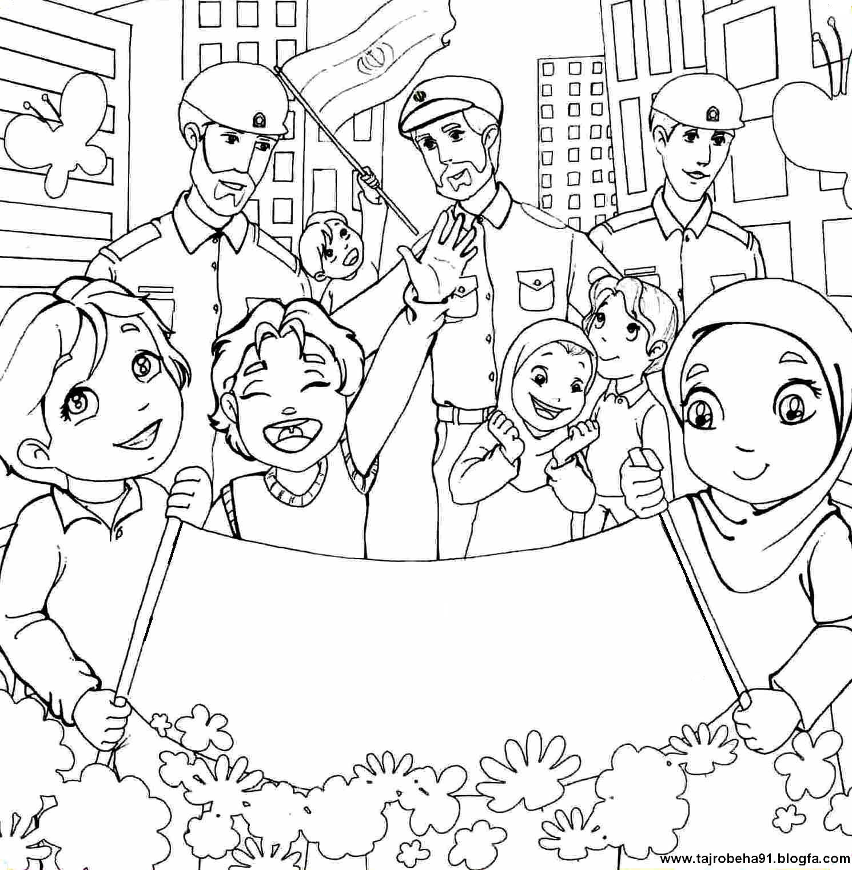 نتیجه تصویری برای نقاشی ۱۳ ابان روز دانش اموز