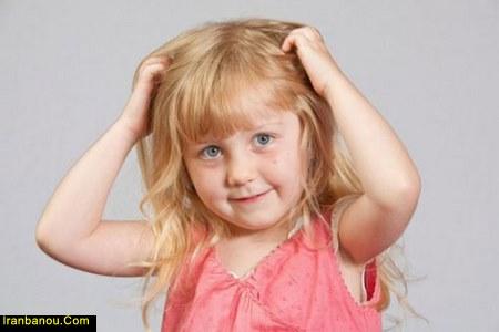 برای پرپشت شدن موی کودکان