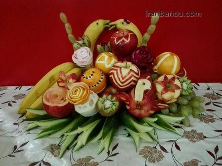 میوه آرایی شب چله