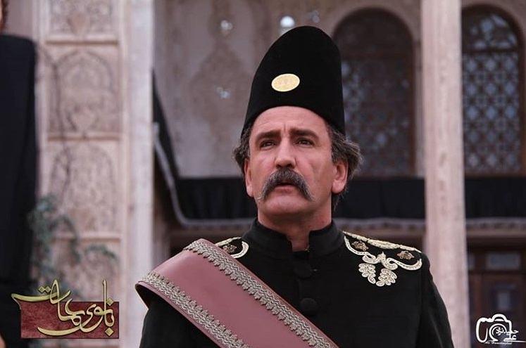 نتیجه تصویری برای صالح میرزا آقایی در بانوی عمارت