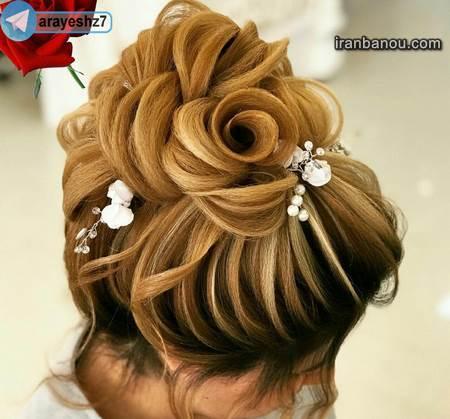 عکس مدل موی جدید دخترانه برای عروسی