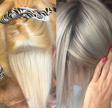 رنگ موی سه صفر