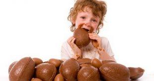 فواید شکلات برای کودکان