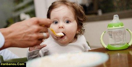 دانلود برنامه غذایی کودک شش ماهه