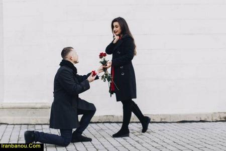 پیشنهاد ازدواج به پسر