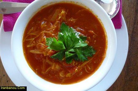 انواع سوپ ورمیشل