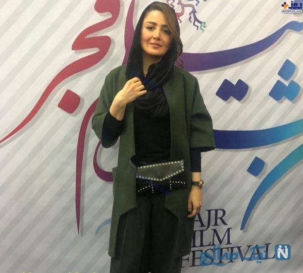 تیپ شیلا خداداد در جشنواره فجر