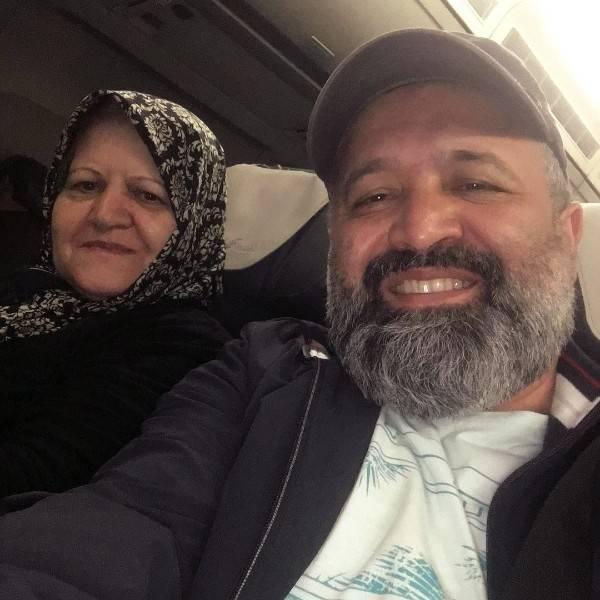 علی صالحی و مادرش