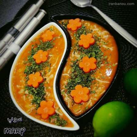 دیزاین سوپ ساده