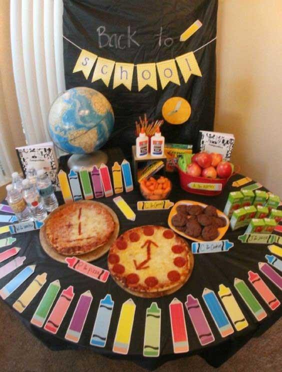 کاردستی جشن الفبا، تزیین کلاس درس برای جشن الفبا