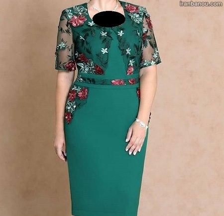 لباس مجلسی ژورنالی شیک دخترانه