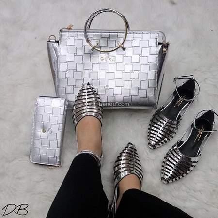 مدل کفش تخت مجلسی دخترانه