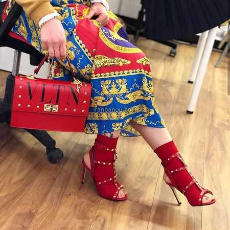کفش مجلسی قرمز