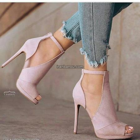 کفش پاشنه بلند زنانه شیک