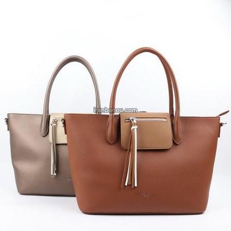 مدل کیف مشکی چرم جدید