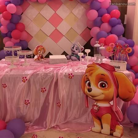 کیک تولد تاج دخترانه