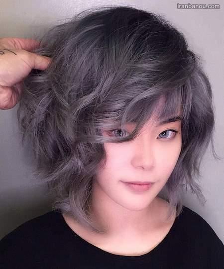 رنگ موی فانتزی دخترانه