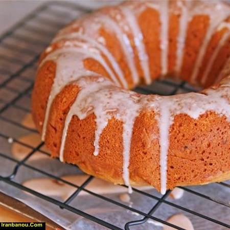 کیک کدو حلوایی خانم جمشیدیان