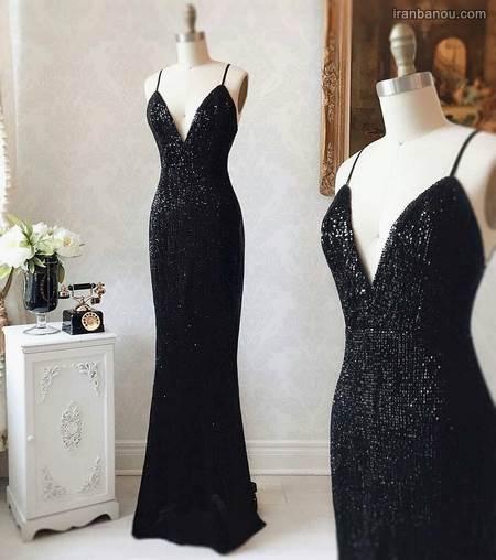 لباس مجلسی بلند زنانه شیک