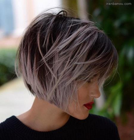 مدل موی گرد فانتزی